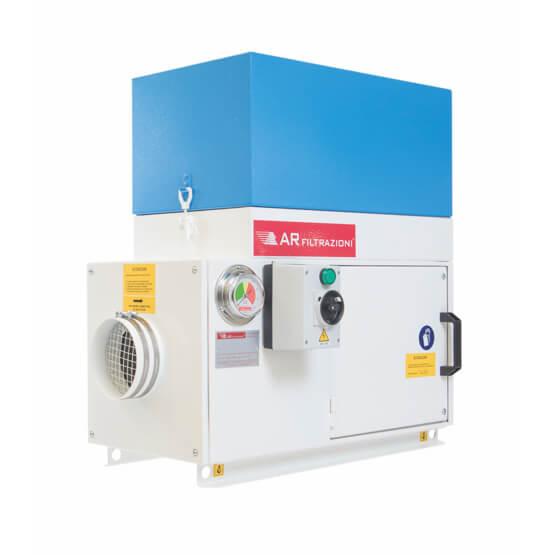 AR Filtrazioni,  Produttore di depuratori per Nebbie Oleose e micropolveri per macchine utensili.