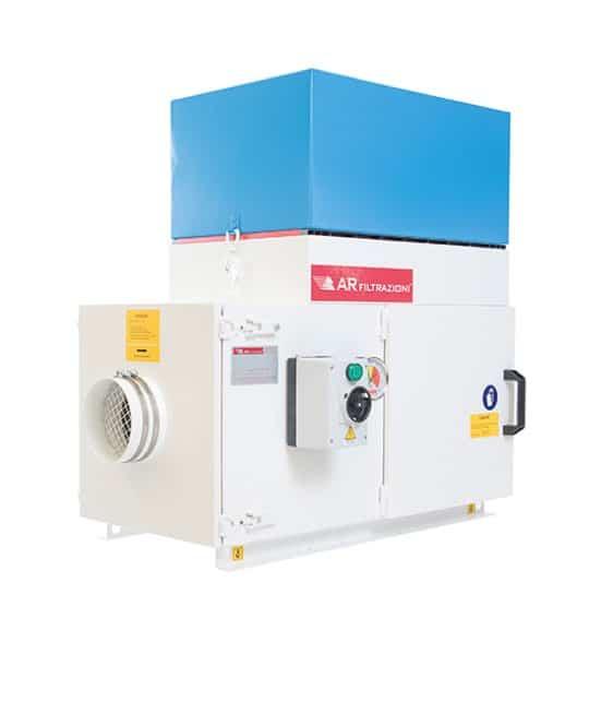 AR Filtrazioni | Serie produzione filtri per nebbie oleose ed inquinanti