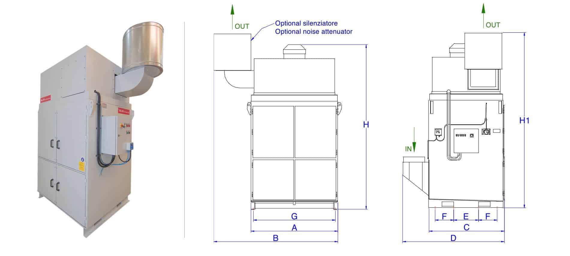 AR Filtrazioni | Serie di produzione AR 10000