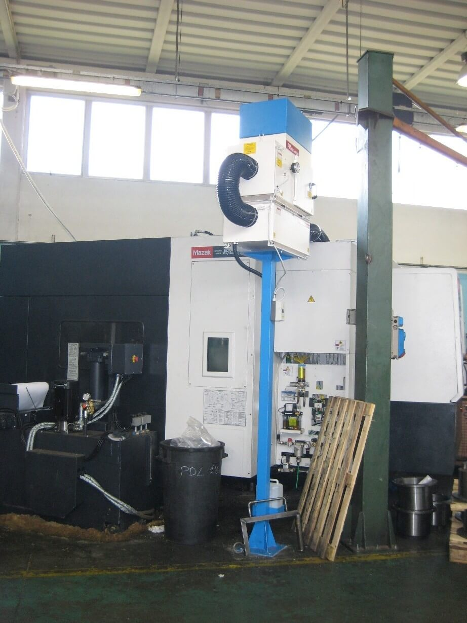 AR Filtrazioni | Filtri e aspiratori per nebbie oleose, depurazioni fumi industriali Centri di lavoro MAZAK CNC