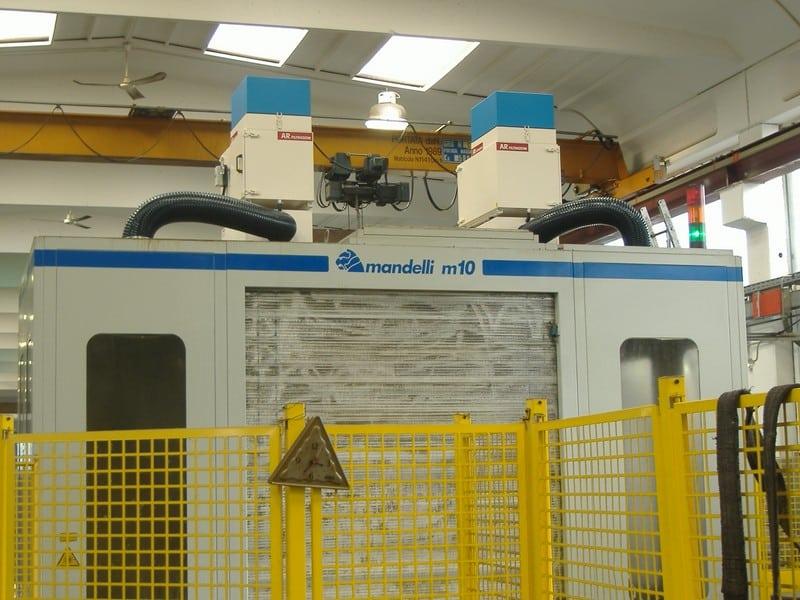 AR Filtrazioni | MANDELLI cnc macchine utensili | Filtrazione nebbie oleose centri di lavoro MANDELLI cnc