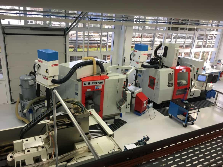 AR Filtrazioni filtrazione e depurazione nebbie oleose per centri di lavoro CB Ferrari