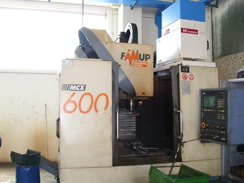 Centri di lavoro CNC FAMUP - Filtri e depuratori per nebbie oleose e fumi