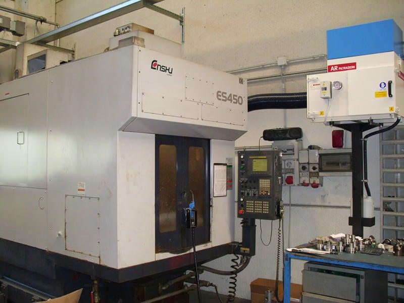 AR Filtrazioni | Depuratori ed aspiratori per centri di lavoro CNC ENSHU