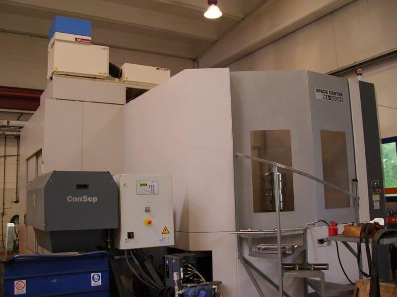 AR FILTRAZIONI | OKUMA CNC | Filtrazione nebbie oleose aspirazione fumi da centri di lavoro cnc