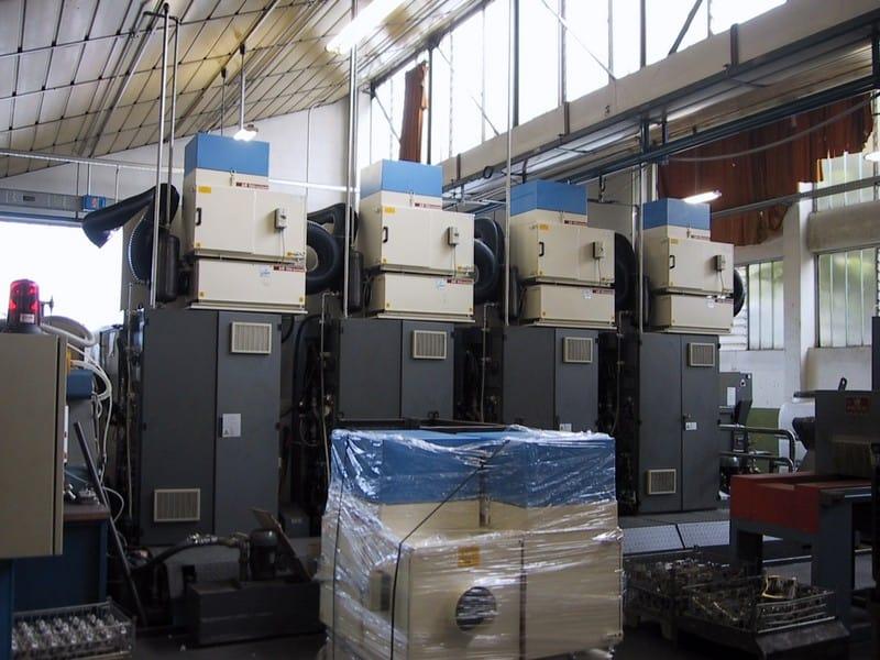 Centro di lavoro CHIRON filtro nebbie oleose AR Filtrazioni