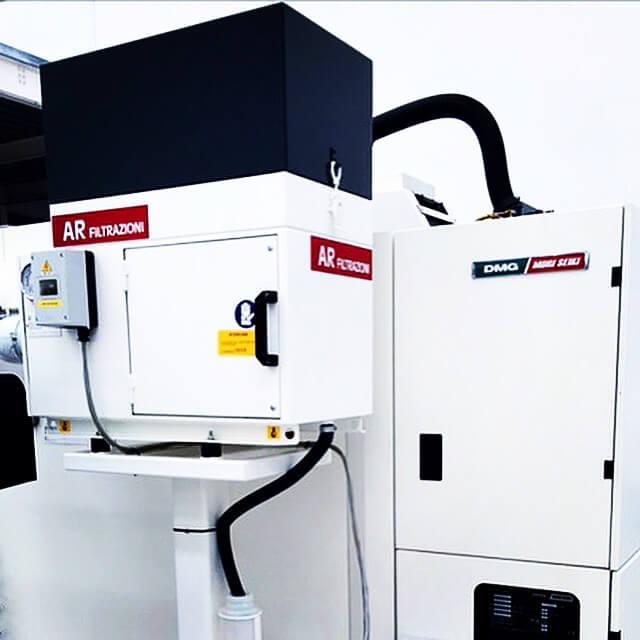 AR Filtrazioni | Aspiratori nebbie oleose per centri di lavoro CNC Mori Seiki - Deckel Maho