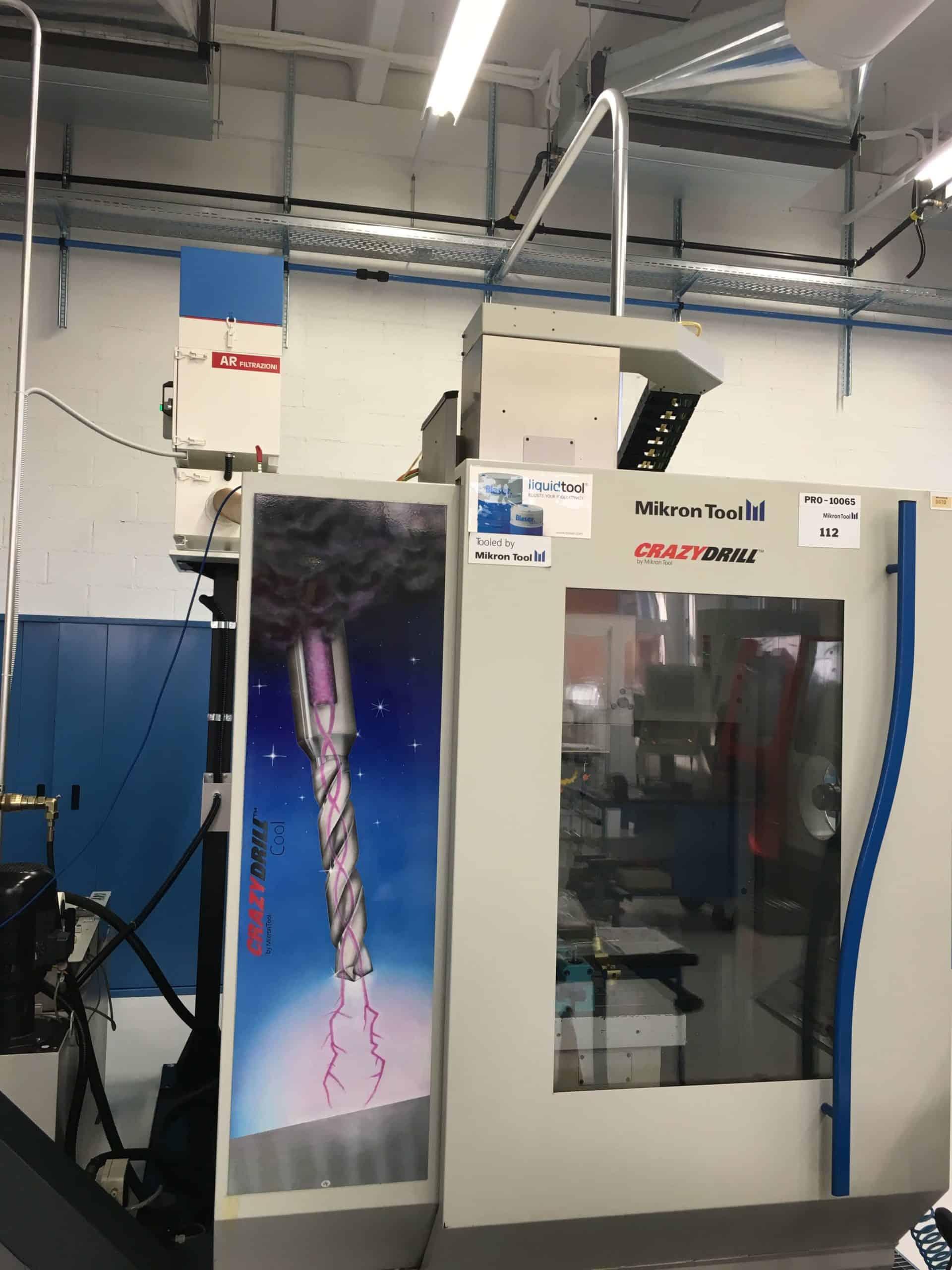 AR Filtrazioni | CNC MIKRON cnc macchine utensili | Filtrazione nebbie oleose centri di lavoro MIKRON cnc