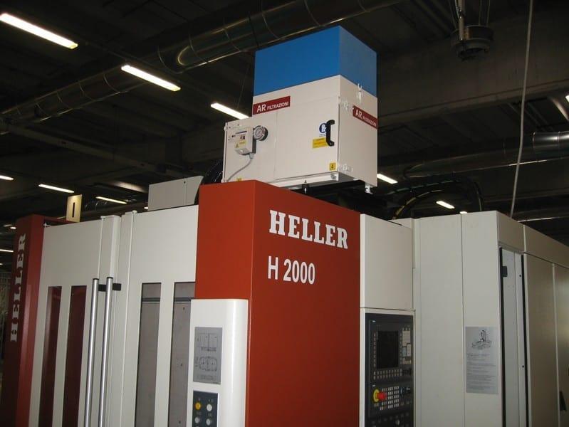 AR Filtrazioni Case History Portfolio Filtrazione Nebbie Oleose Heller