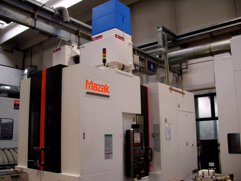 AR Filtrazioni - Centri di lavoro MAZAK
