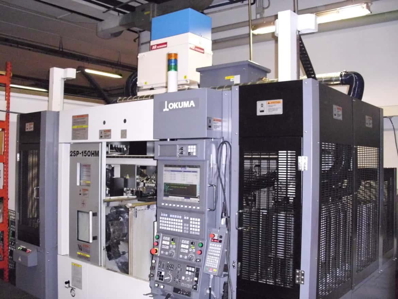 AR Filtrazioni Case History Portfolio Filtrazione Nebbie Oleose Okuma CNC