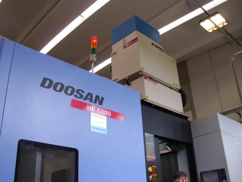 AR Filtrazioni - Centri di lavoro Doosan Daewoo