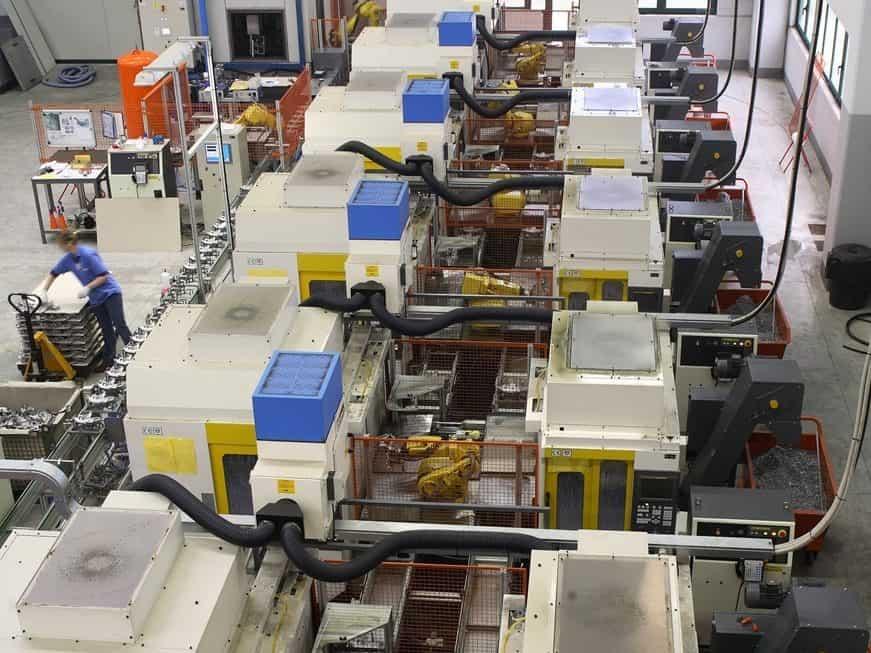 AR Filtrazioni - Centri di lavoro FANUC