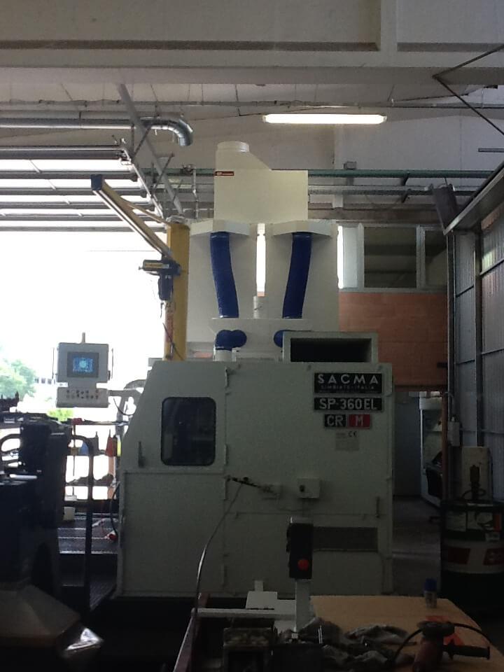 AR Filtrazioni | Depuratori nebbie oleose per presse stampaggio filo SACMA