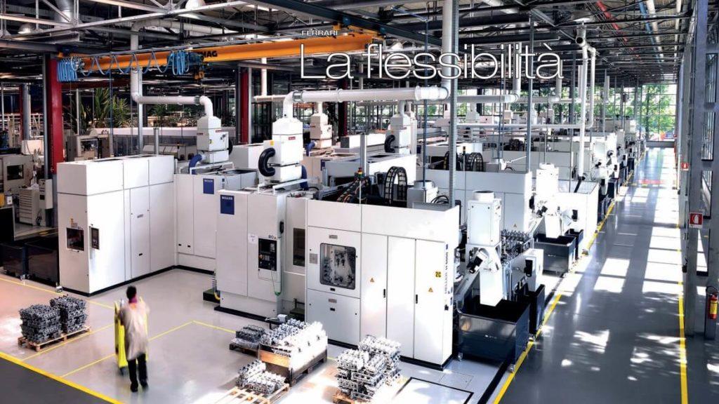 AR Filtrazioni Ferrari Maranello Centri di lavoro CNC