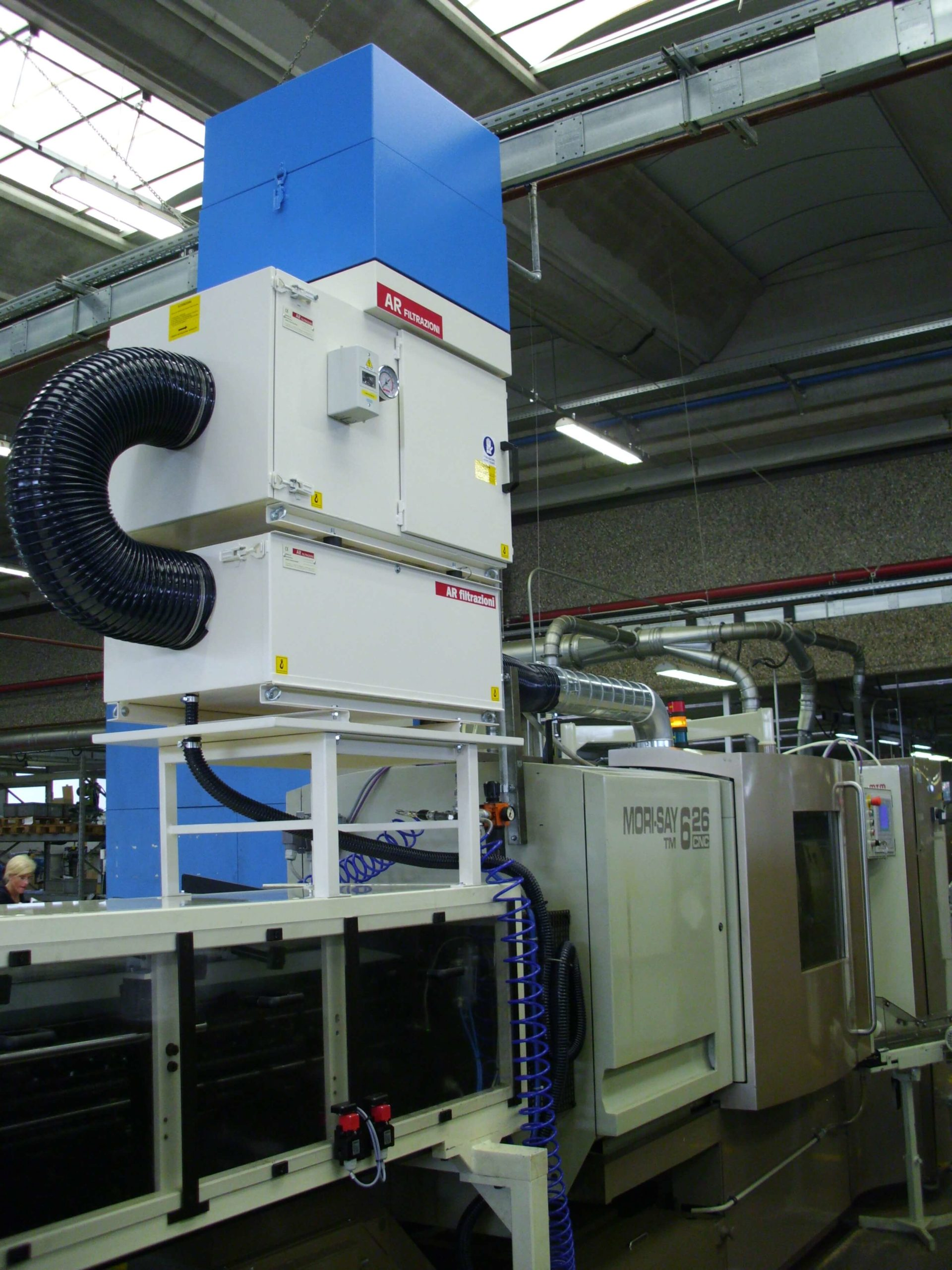 AR Filtrazioni | Filtri per nebbie oleose per torni TAJMAC