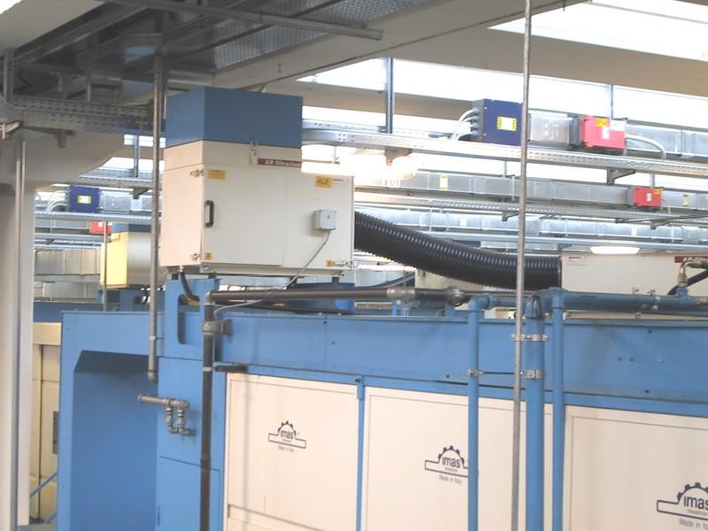AR Filtrazioni | Filtri per nebbie oleose per transfer IMAS