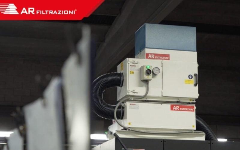 AR Filtrazioni Case History Portfolio Filtrazione Nebbie Oleose PMP Meccanica