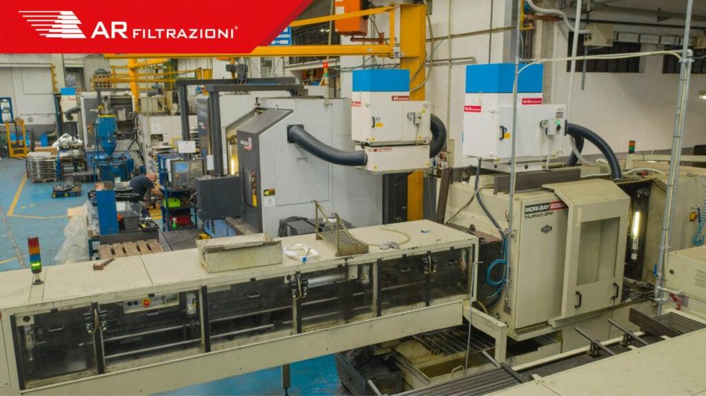 il problema delle nebbie oleose in ambiente di lavoro macchine utensili doosan