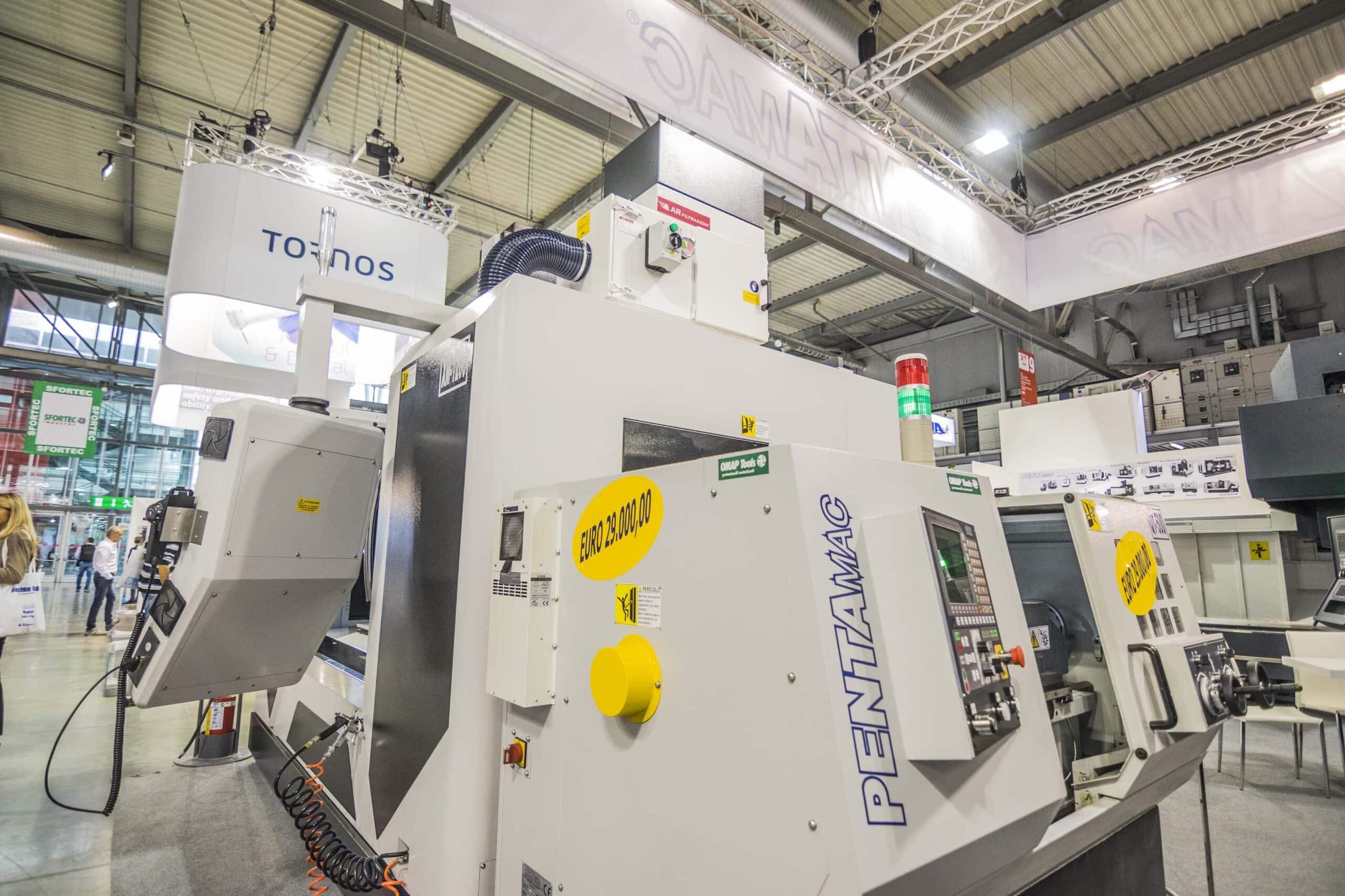 AR Filtrazioni Centri di lavoro CNC PENTAMAC CNC